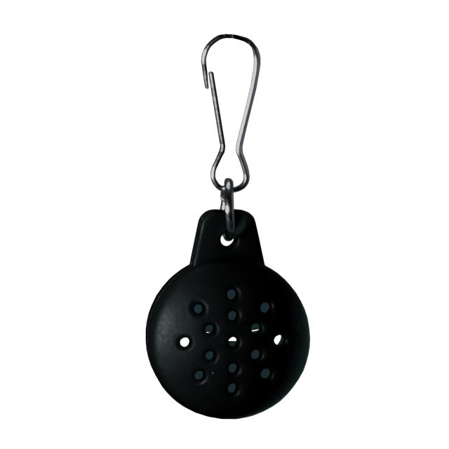 Black essential oil dog collar diffuser