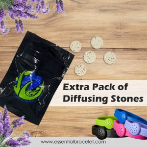 Pack of extra clay tablets for diffusing aromatherapy oils