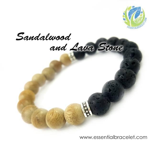 Sandalwood and Lava Stone Aromatherapy benefits