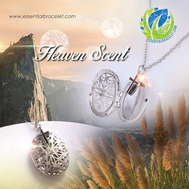 Heaven Scent cross pendant necklace