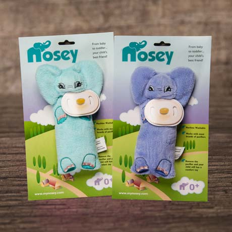 Nosey - aromatherapy plush toy for infants (color options)