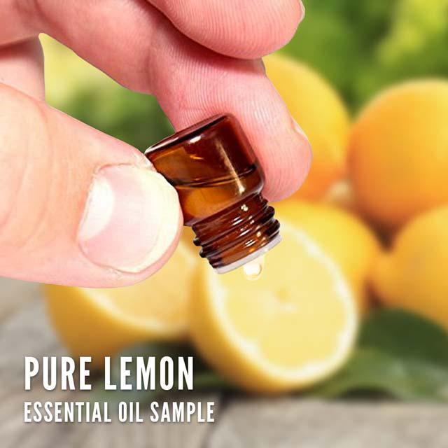 Pure Lemon essential oil (sample)