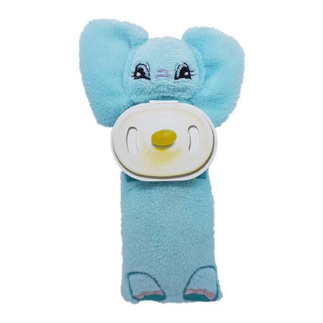 Nosey - aromatherapy plush toy for infants (teal)