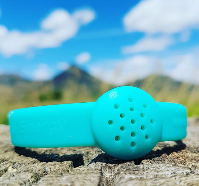 Ocean Breeze Teal aromatherapy diffusing bracelet