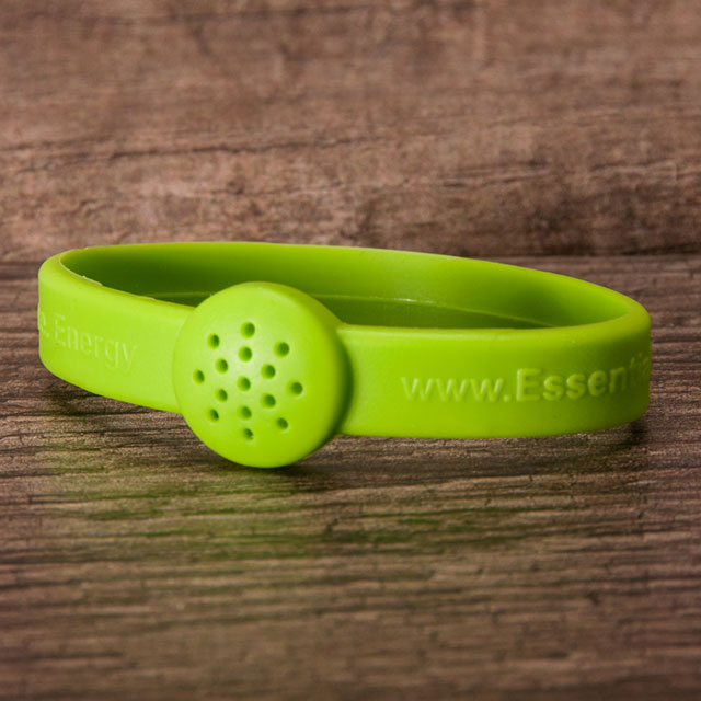 The original lime green essential bracelet