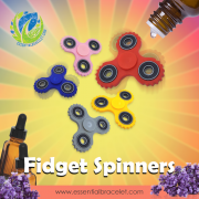 Fidget Spinners for diffusing essential oil