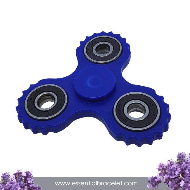 blue aromatherapy Fidget Spinner