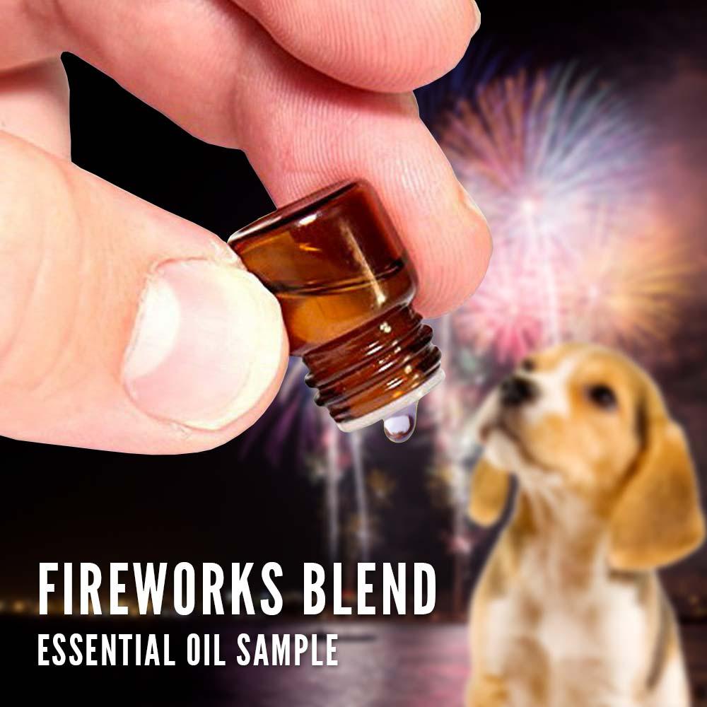 fireworks essential oil blend samples