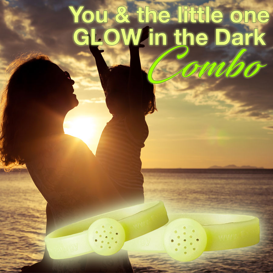 Glow-in-the-dark combo essential bracelets