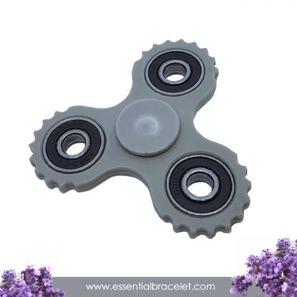 gray aromatherapy Fidget Spinner