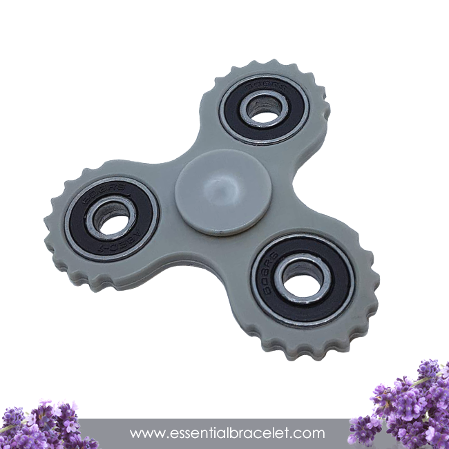 gray aromatherapy Fidget Spinner