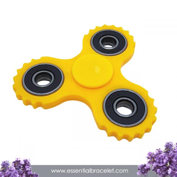 yellow Fidget Spinner diffuser